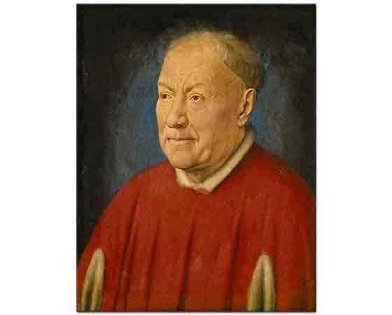 Jan van Eyck Kardinal Nicholaes Albergati'nin Portresi