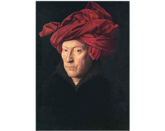 Jan van Eyck Kendi Portresi