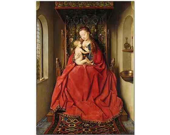 Jan van Eyck Madonna ve Çocuğu