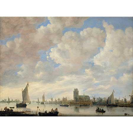 Jan van Goyen Dordrecht'ten Bakış