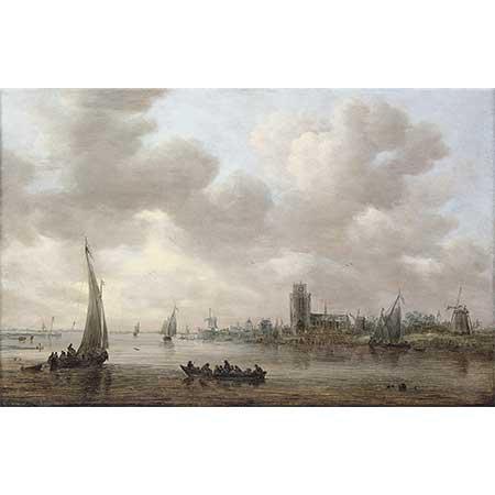 Jan van Goyen Maas Manzarası