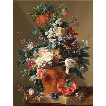 Jan van Huysum Vazoda Çiçekler