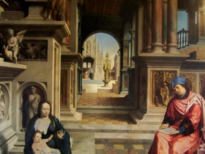 Jan Gossaert Meryem ve Çocuğu