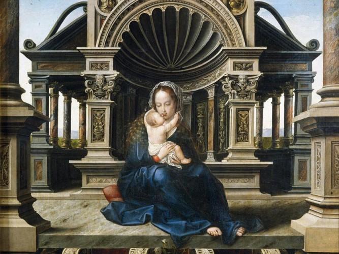 Jan Gossaert Madonna