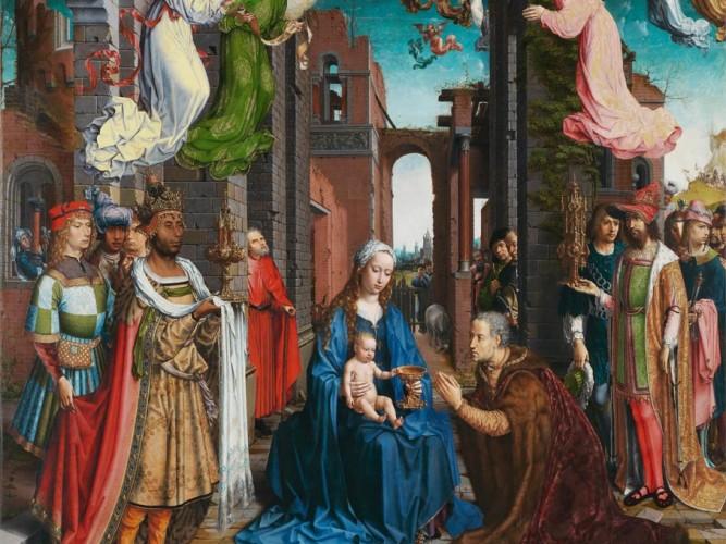 Jan Gossaert Kralların Tazimi