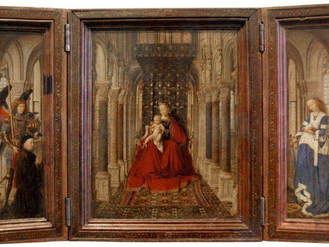 Jan van Eyck Müjde tablosu