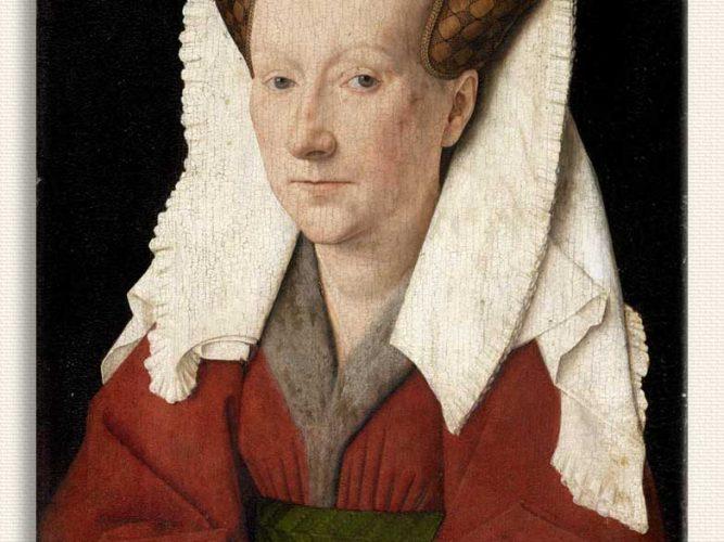 Jan van Eyck Margaret van Eyck'in Portresi