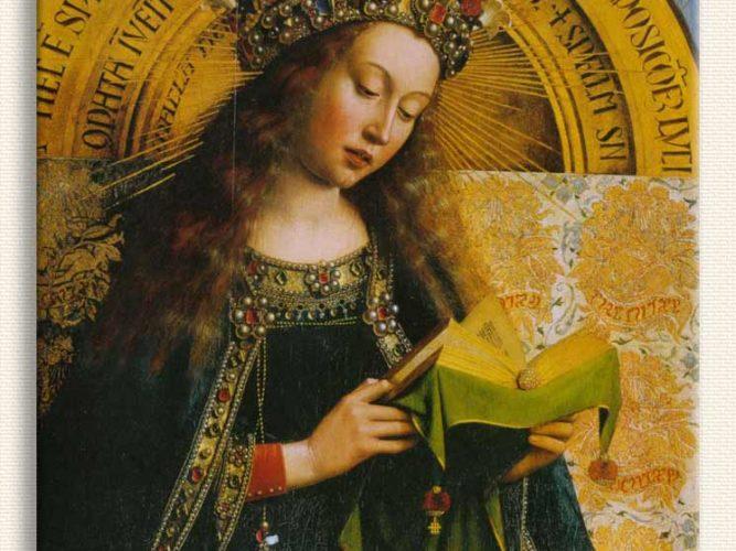 Jan van Eyck Madonna tablosu