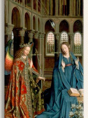 Jan van Eyck Tebliğ tablosu