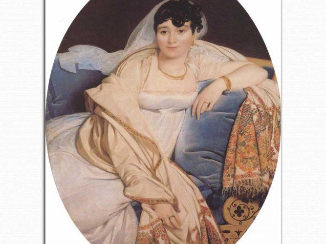 Jean Auguste Dominique Ingres Madame Riviere