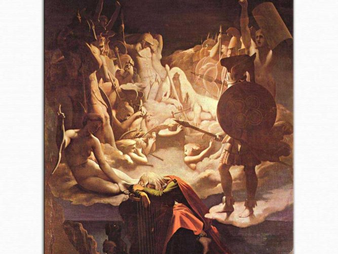 Jean Auguste Dominique Ingres Ossian'ın Rüyası
