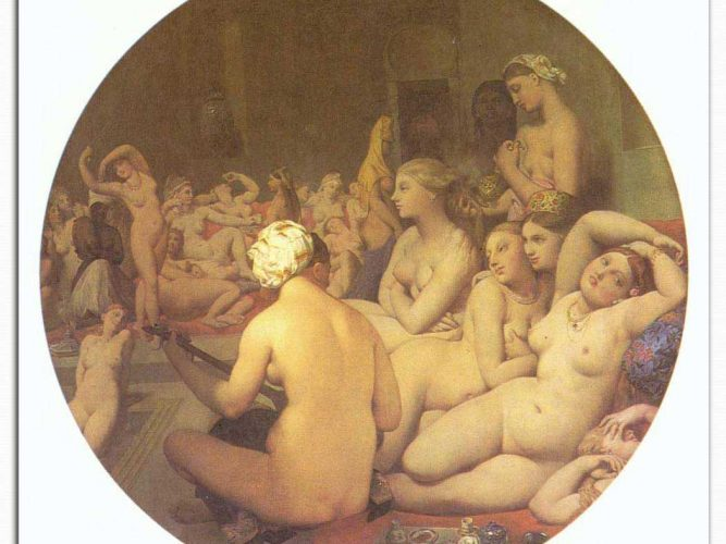 Jean Auguste Dominique Ingres Türk Hamamı