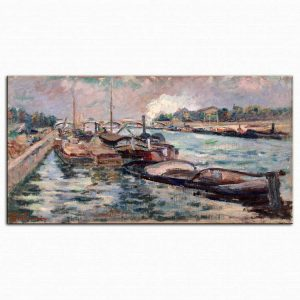 Jean Baptiste Armand Guillaumin Seine Kıyısında