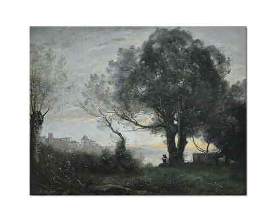 Jean Baptiste Camille Corot Castelgandolfo Manzarası