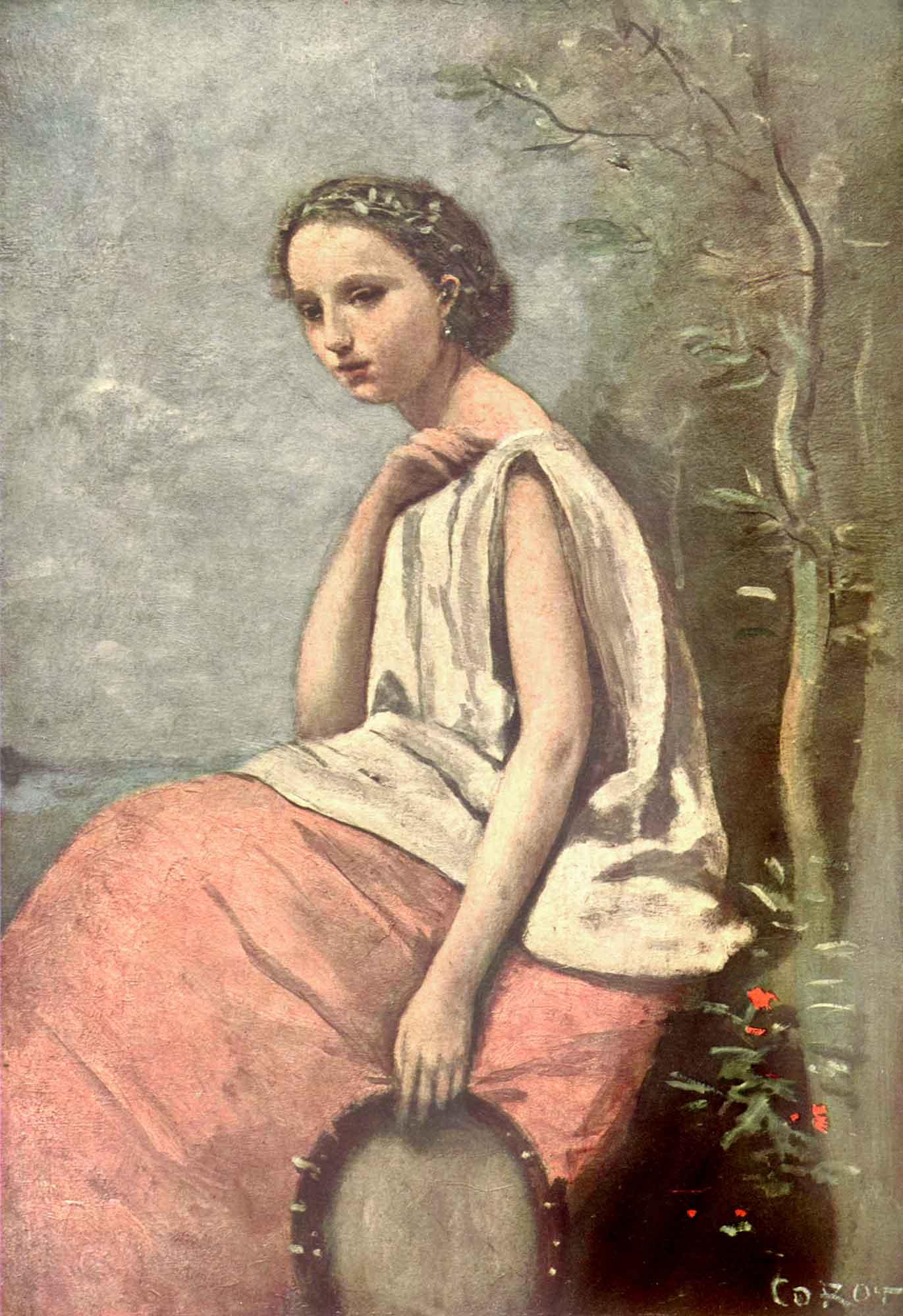 Jean Baptiste Camille Corot Çingene