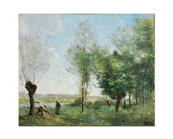 Jean Baptiste Camille Corot Coubron Anısına