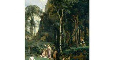 Jean Baptiste Camille Corot Diana'nın Banyosu