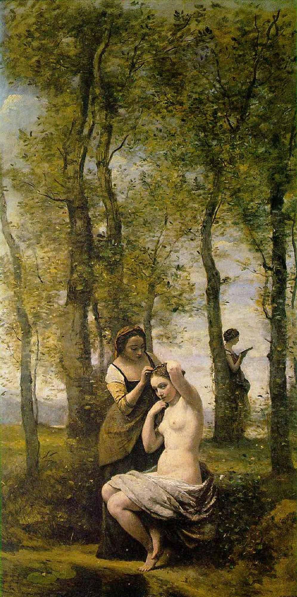 Jean Baptiste Camille Corot Figürlü Manzara