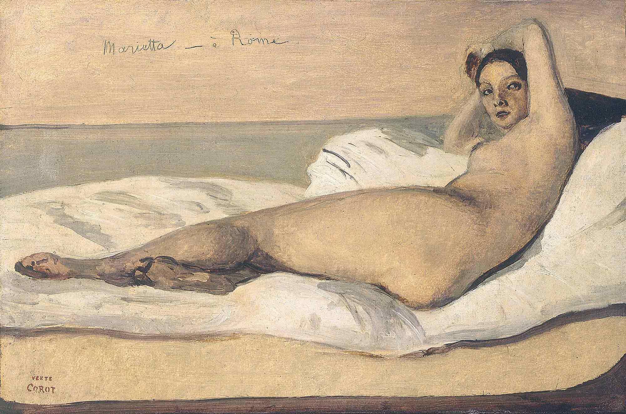 Jean Baptiste Camille Corot Marietta