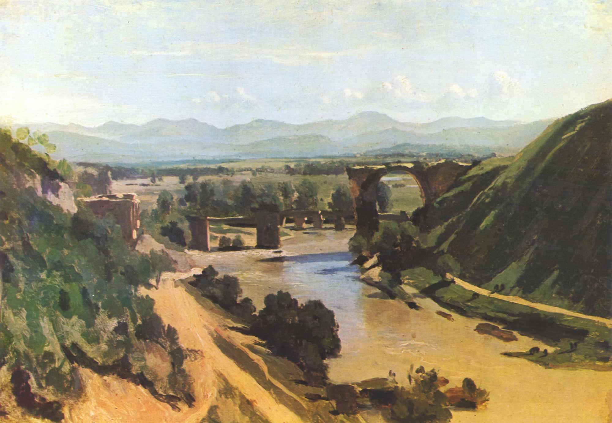 Jean Baptiste Camille Corot Narni Köprüsü