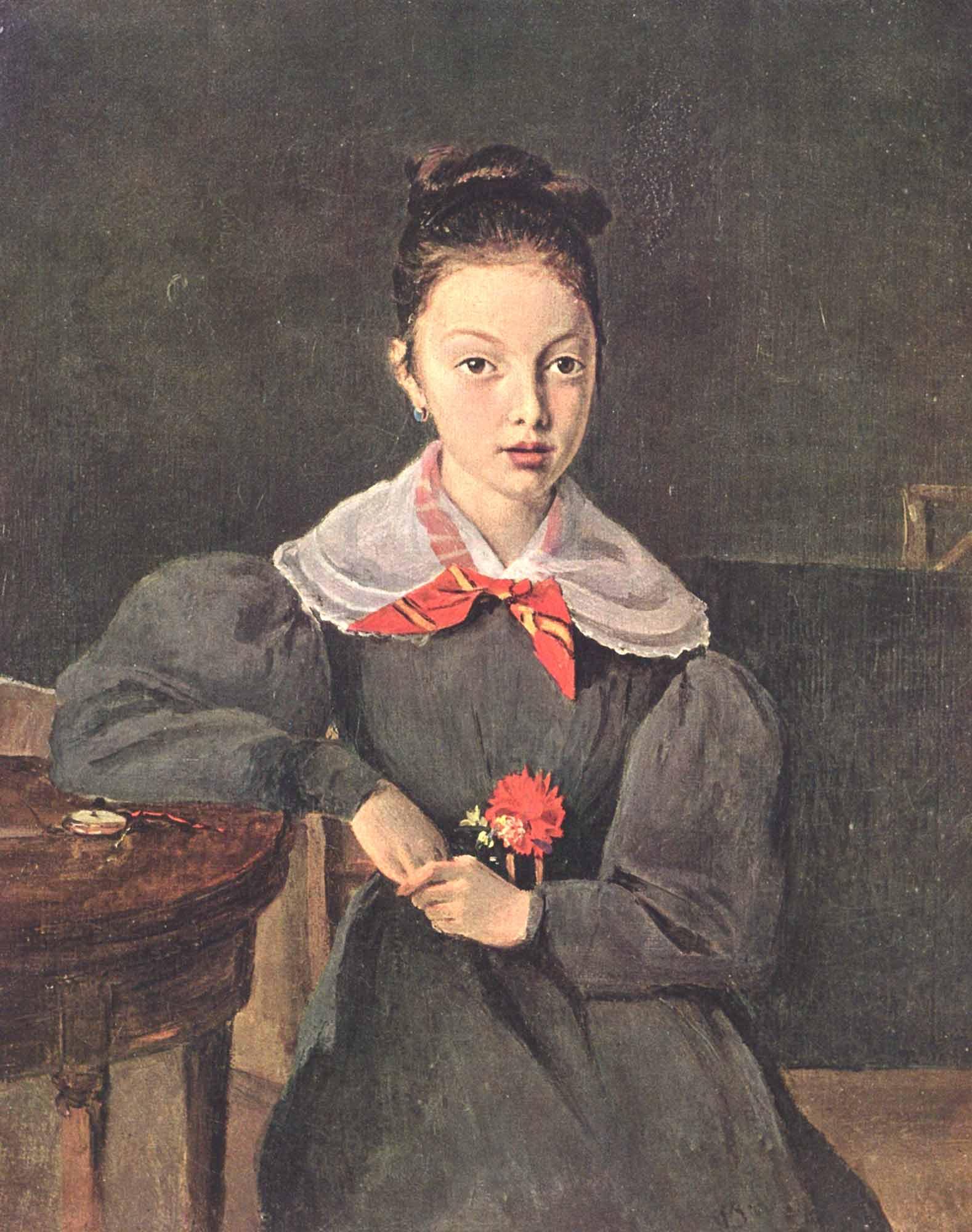 Jean Baptiste Camille Corot Octavie Sennegon