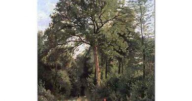 Jean Baptiste Camille Corot Orman Girişi
