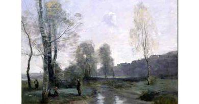 Jean Baptiste Camille Corot Picardy'deki Kanal