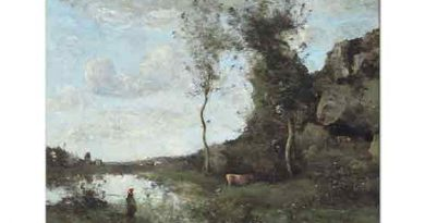 Jean Baptiste Camille Corot Pierreaux'da Sel