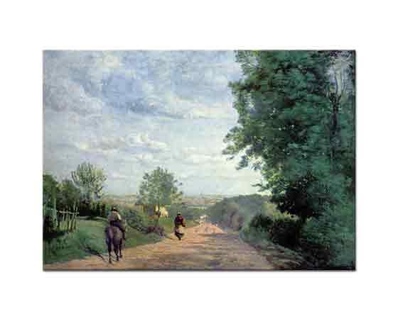 Jean Baptiste Camille Corot Sevr Yolu