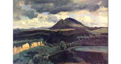 Jean Baptiste Camille Corot Soracte Dağı