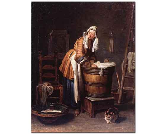 Jean Baptiste Simeon Chardin Çamaşırcı