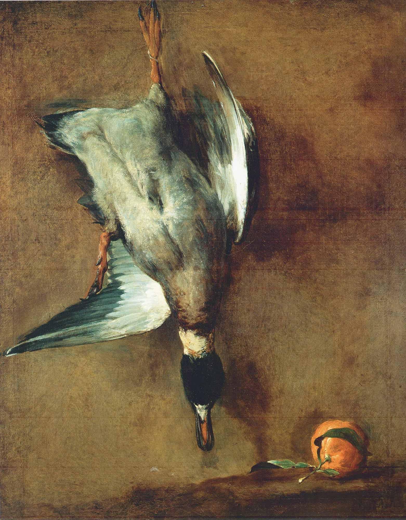 Jean Baptiste Simeon Chardin Duvarda Ördek