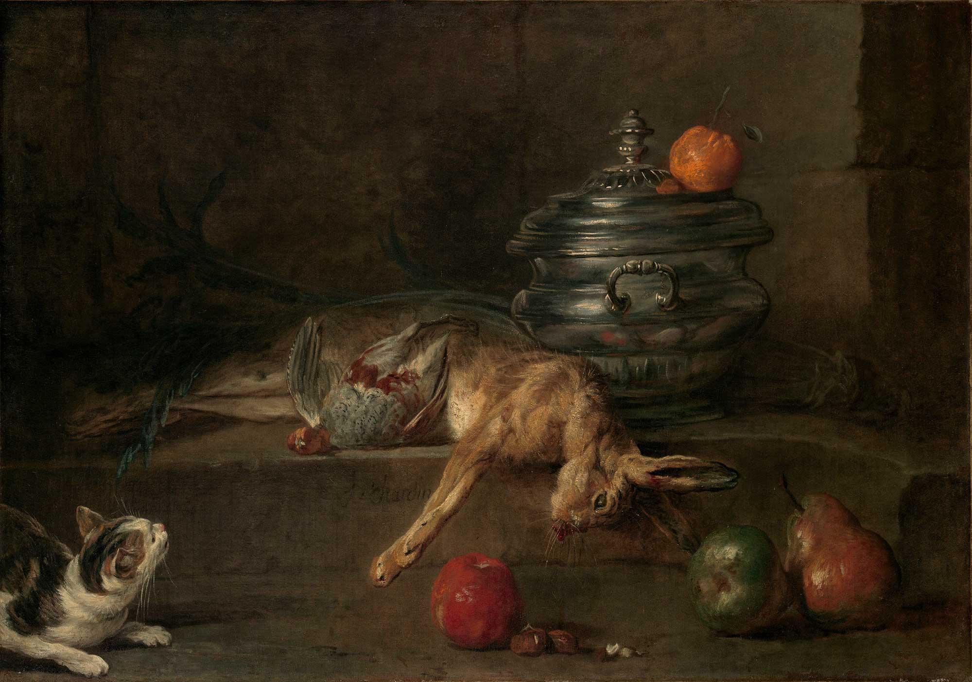 Jean Baptiste Simeon Chardin Gümüş çorba kasesi