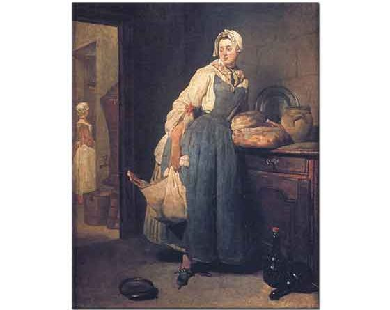 Jean Baptiste Simeon Chardin Hizmetçi