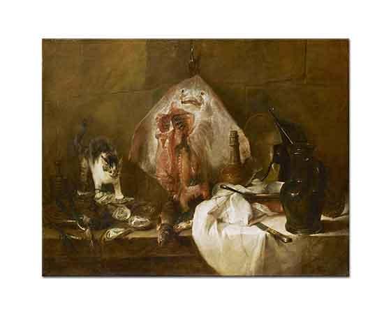 Jean Baptiste Simeon Chardin ışıklar