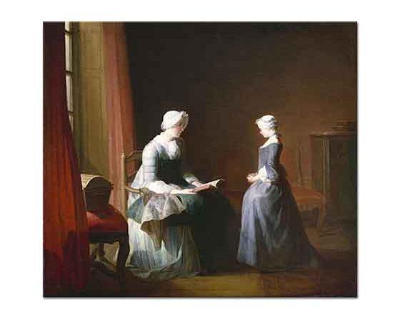 Jean Baptiste Simeon Chardin iyi Eğitim