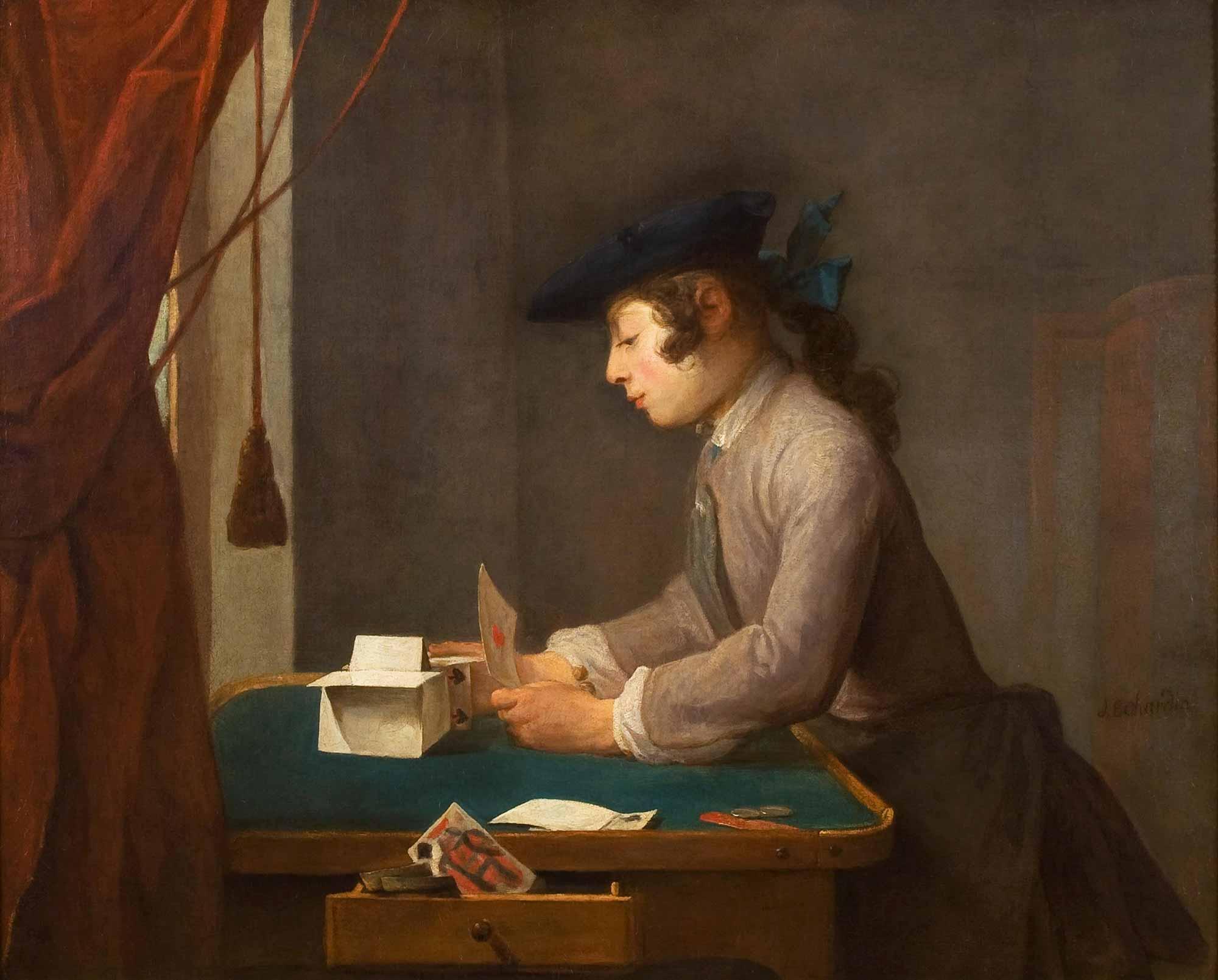 Jean Baptiste Simeon Chardin Kumarhanede