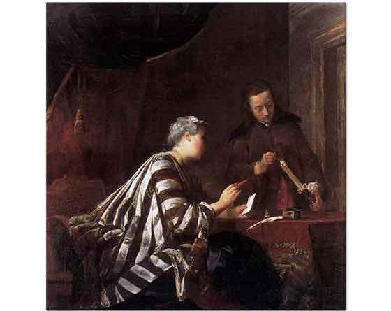 Jean Baptiste Simeon Chardin Mektup Mühürleyicisi