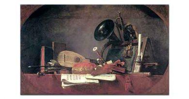 Jean Baptiste Simeon Chardin Müzik Aletleri