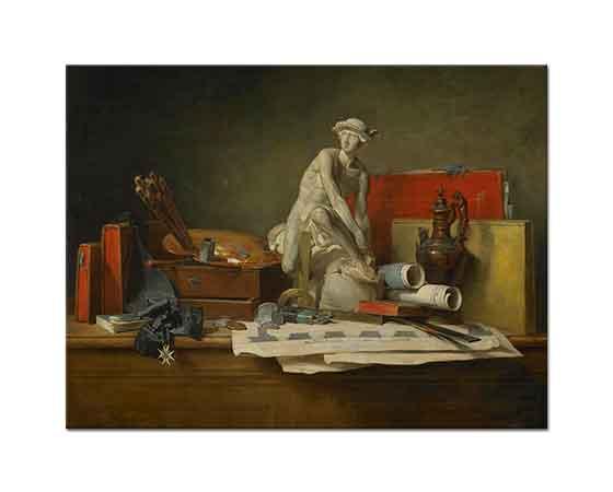 Jean Baptiste Simeon Chardin Sanatın Alametleri