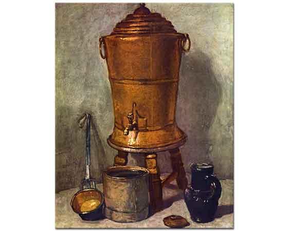 Jean Baptiste Simeon Chardin Su Kazanı