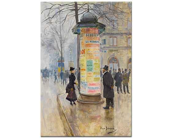 Jean Beraud Paris Sokağı