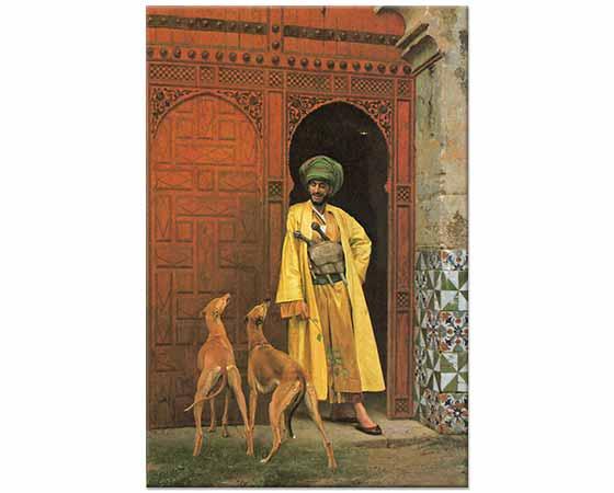 Jean Leon Gerome Arap ve Köpekleri