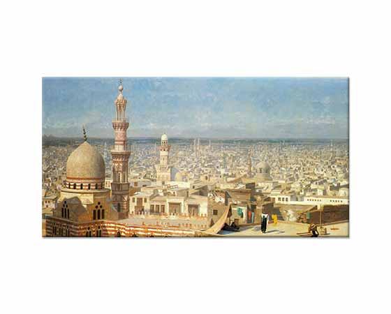 Jean Leon Gerome Kahire'ye Bakış