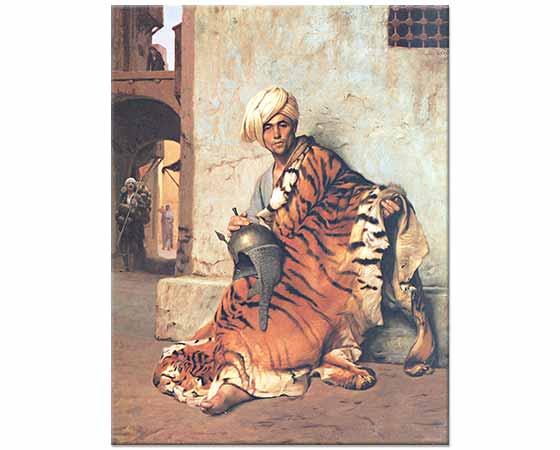Jean Leon Gerome Kürk Tüccarı Kahire
