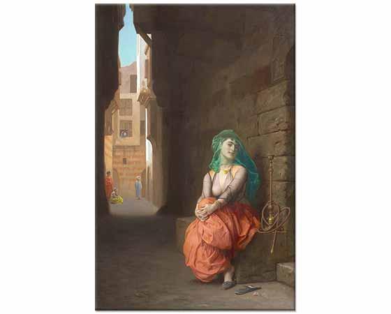 Jean Leon Gerome Nargileli Arap Kızı