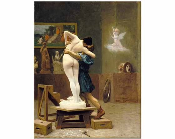 Jean Leon Gerome Pygmalion ve Galatea