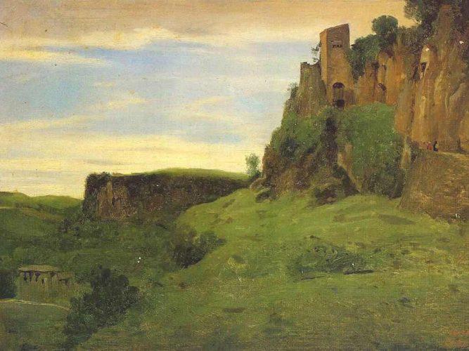 Jean Baptiste Camille Corot Civita Castelland
