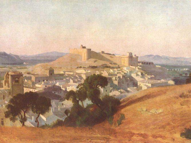 Jean Baptiste Camille Corot Les Avignon'dan Bakış