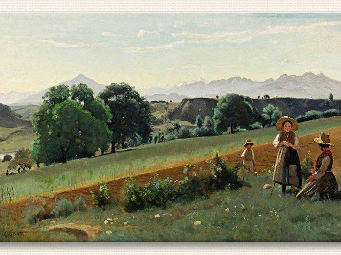Jean Baptiste Camille Corot Tarlada